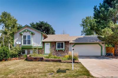 Centennial Single Family Home Under Contract: 21589 East Alamo Place
