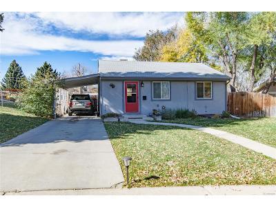 Denver Single Family Home Under Contract: 1675 South Quieto Court