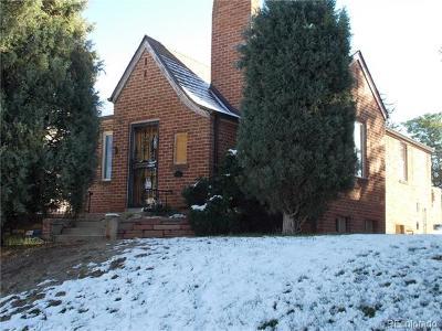 Denver CO Single Family Home Under Contract: $349,900