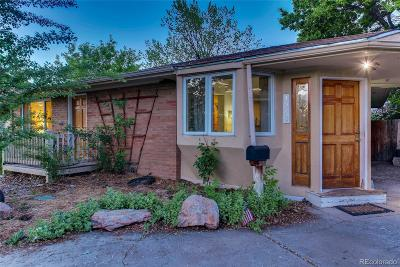 Denver Single Family Home Active: 1270 South Lowell Boulevard