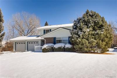 Boulder Single Family Home Under Contract: 5280 Sun Dial Place