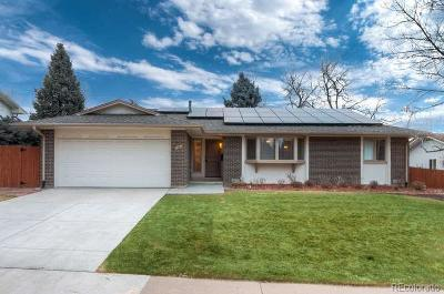 Centennial Single Family Home Under Contract: 7681 East Easter Place