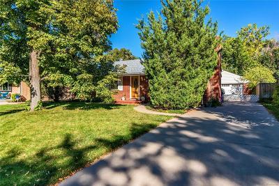 Denver Single Family Home Active: 1754 South Leyden Street
