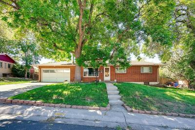 Denver Single Family Home Under Contract: 4920 West Amherst Avenue