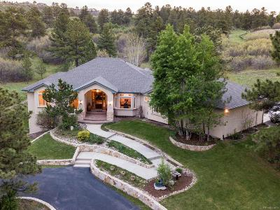 Castle Rock Single Family Home Under Contract: 470 East Happy Canyon Road