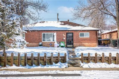 Thornton Single Family Home Under Contract: 9251 Race Street
