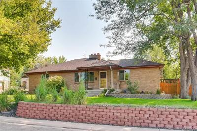 Englewood Single Family Home Active: 4996 South Kalamath Drive
