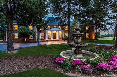 Cherry Hills Village CO Single Family Home Active: $2,500,000