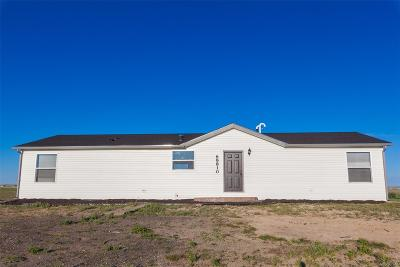 Byers Single Family Home Active: 68810 East County Road 38