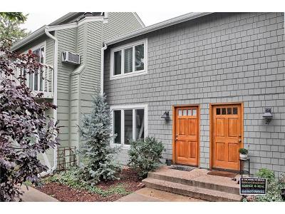 Boulder Condo/Townhouse Active: 3840 Broadway Street #28