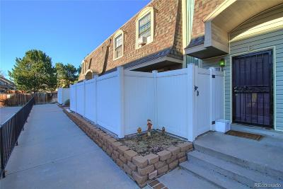 Aurora Condo/Townhouse Active: 15553 East Wyoming Drive #B