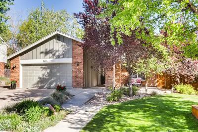 Centennial CO Single Family Home Under Contract: $595,000