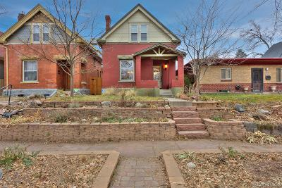 Denver Single Family Home Under Contract: 3539 Quitman Street