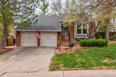 Centennial CO Single Family Home Under Contract: $519,900