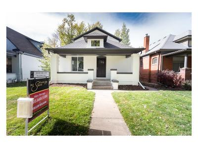 Denver Single Family Home Active: 507 South Emerson Street