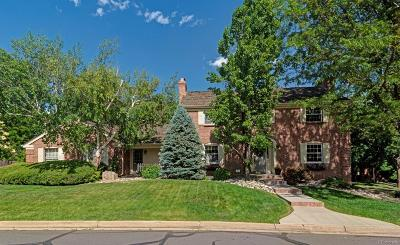 Littleton Single Family Home Under Contract: 6076 South Coventry Lane