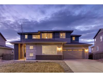 Castle Rock Single Family Home Under Contract: 4327 Manorbrier Court