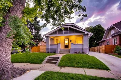 Denver Single Family Home Active: 1529 Meade Street