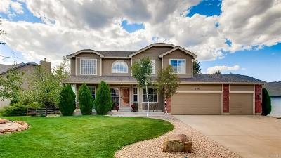 Colorado Springs Single Family Home Active: 15450 Curwood Drive