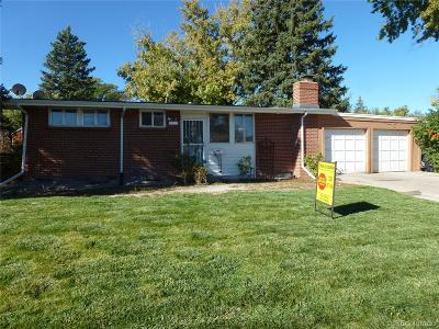 Denver Single Family Home Active: 2181 South Wolcott Court