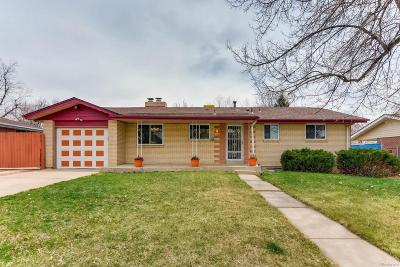 Arvada Single Family Home Active: 8494 Depew Street