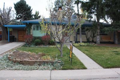 Denver Single Family Home Active: 4850 East Alabama Place