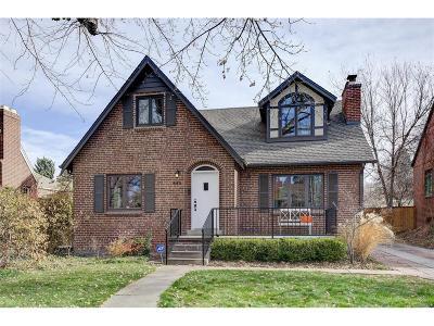 Denver Single Family Home Active: 642 Birch Street