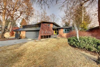 Denver Single Family Home Active: 266 South Jersey Street