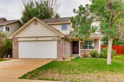 Aurora Single Family Home Active: 18643 East Linvale Place