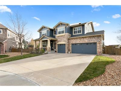 Castle Rock Single Family Home Under Contract: 4754 Mustang Run Place