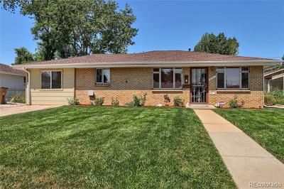 Wheat Ridge Single Family Home Active: 4761 Dudley Street