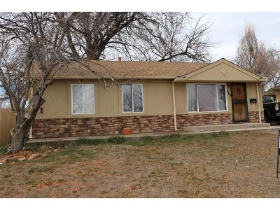 Denver Single Family Home Active: 849 South Quieto Way