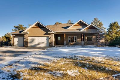 Monument Single Family Home Under Contract: 1232 Greenland Forest Drive