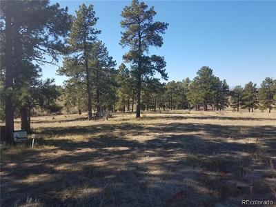 Parker Residential Lots & Land Active: 10560 Shadow Pines Road