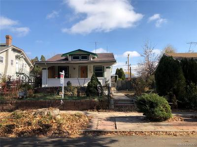 Denver Single Family Home Under Contract: 4322 Quitman Street