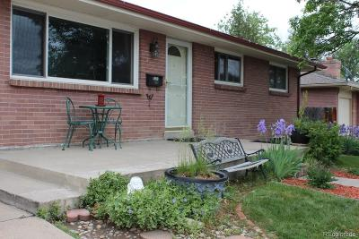 Westminster Single Family Home Active: 4301 Dixon Drive