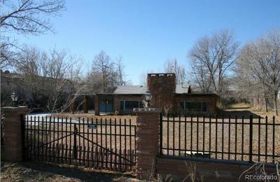 Adams County Residential Lots & Land Active: 7575 Bradburn Boulevard