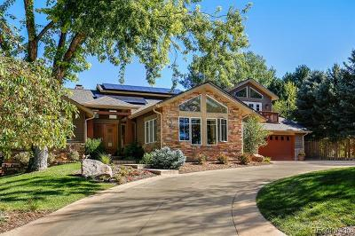 Boulder Single Family Home Active: 4934 Idylwild Trail