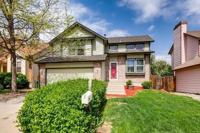 Westminster Single Family Home Active: 9726 Jellison Street