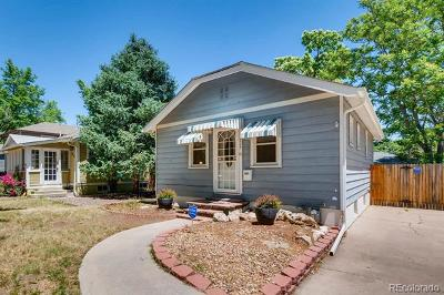 Denver University, Du, Du Harvard Park, Du Platt Park, Du Platte Park, Platt Park, Platt Park ~ Harvard Gulch Single Family Home Active: 1824 South Gilpin Street