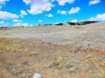Hartsel CO Residential Lots & Land Active: $7,500