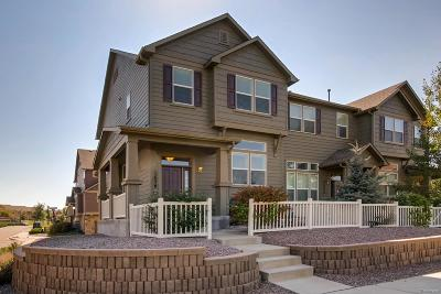 Castle Rock CO Condo/Townhouse Under Contract: $329,900