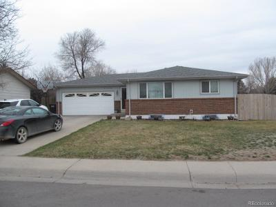 Greeley Single Family Home Active: 2746 West 22nd Street Drive