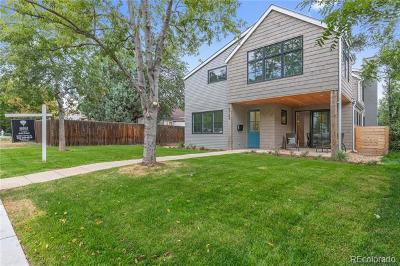 Boulder Single Family Home Active: 3184 9th Street