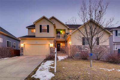 Castle Rock Single Family Home Under Contract: 3527 Golden Spur Loop