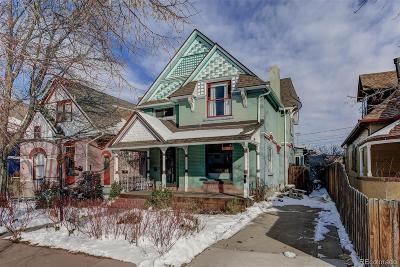 Denver Single Family Home Under Contract: 39 West Irvington Place