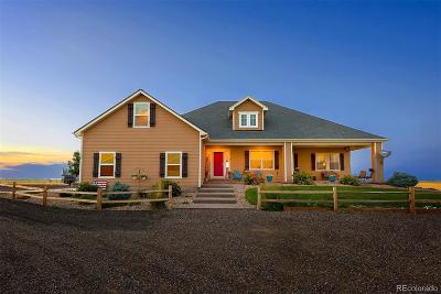 Arapahoe County Single Family Home Active: 54171 East County Road 26