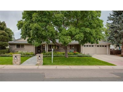 Single Family Home Under Contract: 3643 South Elm Way