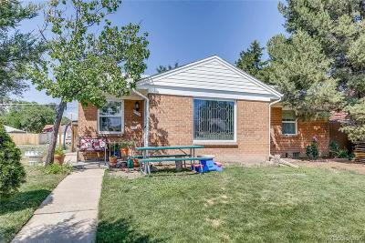 Denver Single Family Home Active: 1335 Wolff Street