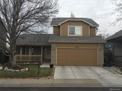 Broomfield Single Family Home Under Contract: 12252 Cherrywood Street